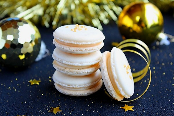 les macarons de Noel