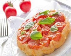 Tarte tatin de tomates cerise