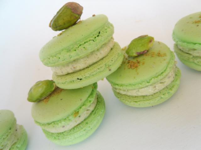 macarons sans colorants artificiels