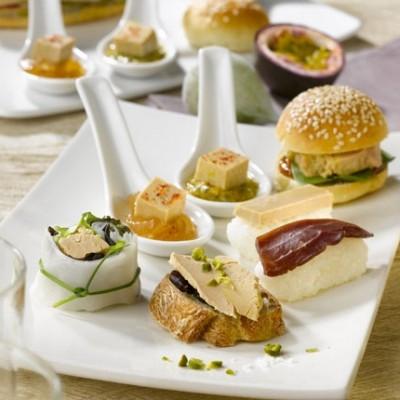 Mises en bouche au foie gras *