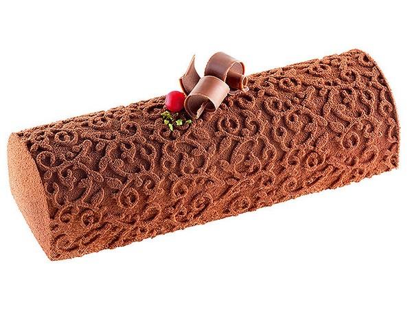 Bûches aux 3 chocolats *