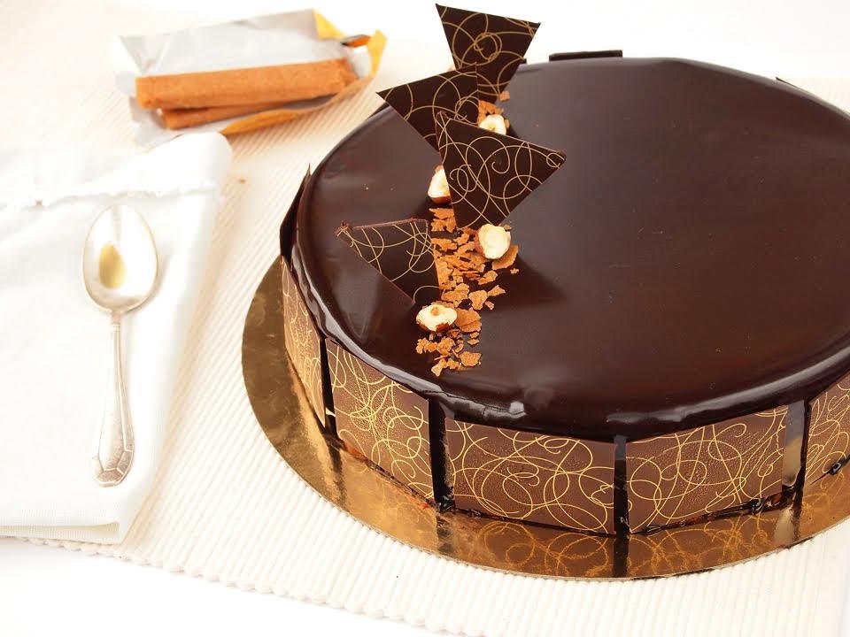 Le royal chocolat.. décor de pâques