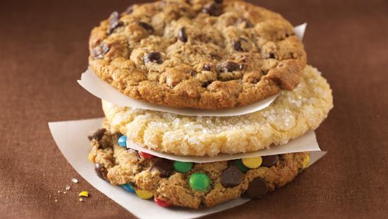 Petits et grands: les cookies