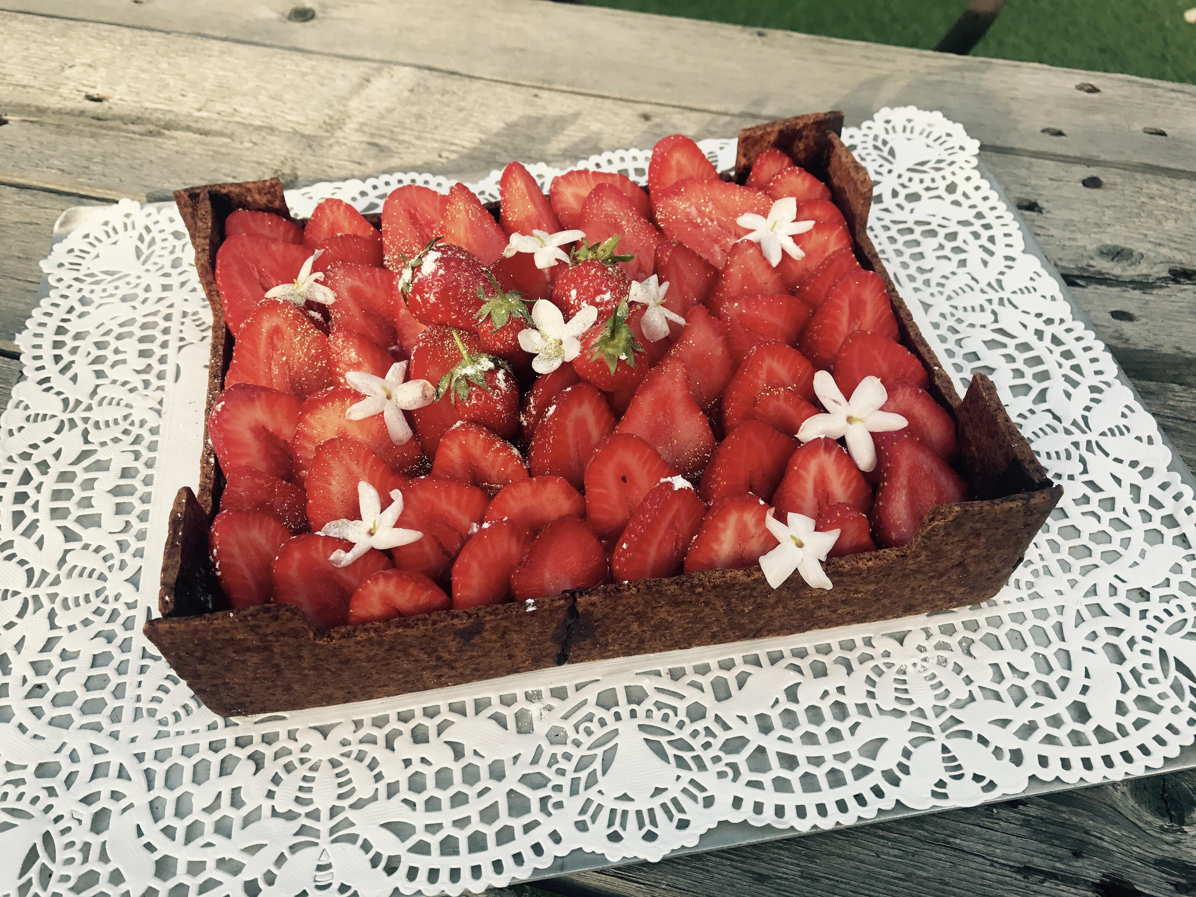 La cagette de fraises