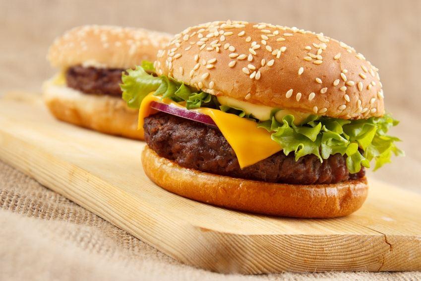 Les enfants…. hamburger maison