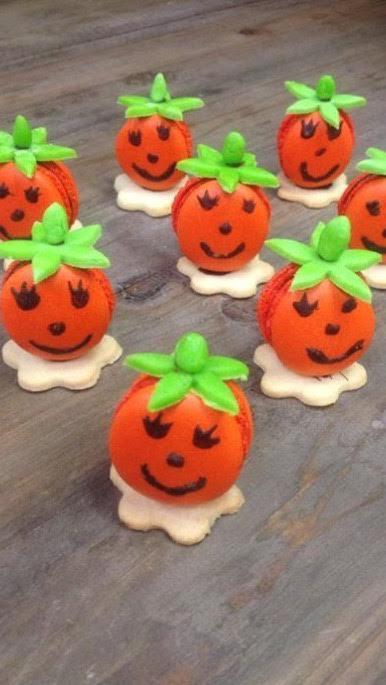 Les macarons d'halloween