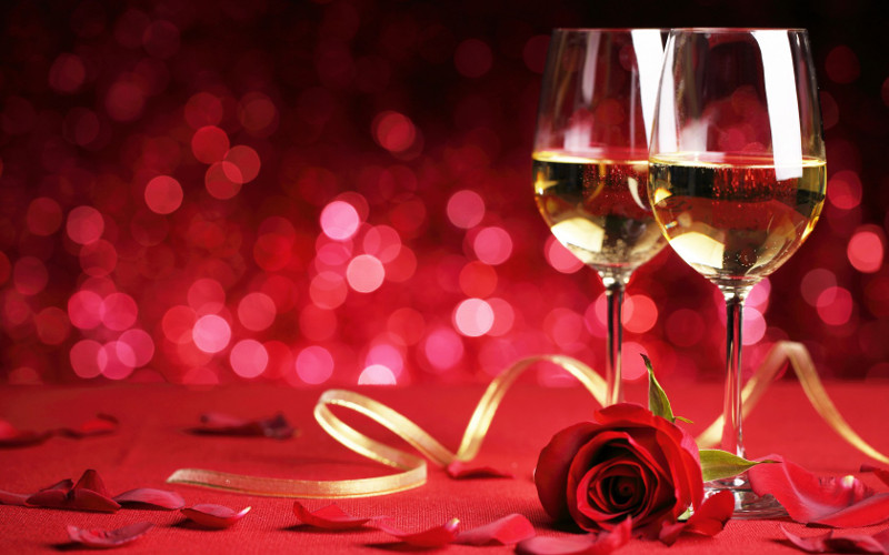 Le repas des amoureux pour la ST Valentin